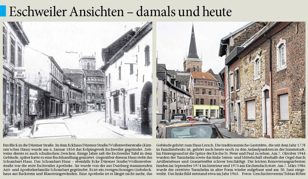 Eschweiler Damals Und Heute